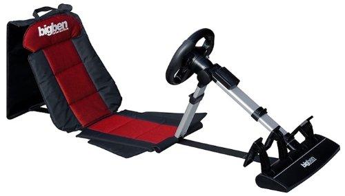 BigBen Racing Seat 3in1 inklusive Lenkrad für PS3 und PC